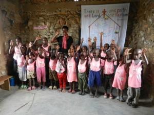 Allen & the Isaiah nursery class